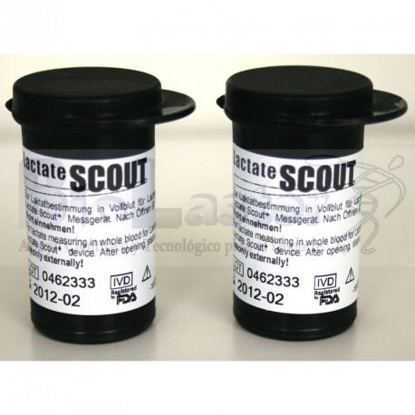 48 Tiras Reactivas Lactate Scout