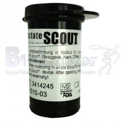 24 Tiras Lactate Scout