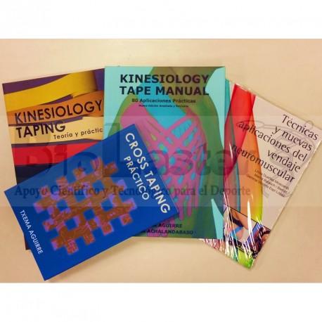 Conjunto de Libros de Kinesiotape 4