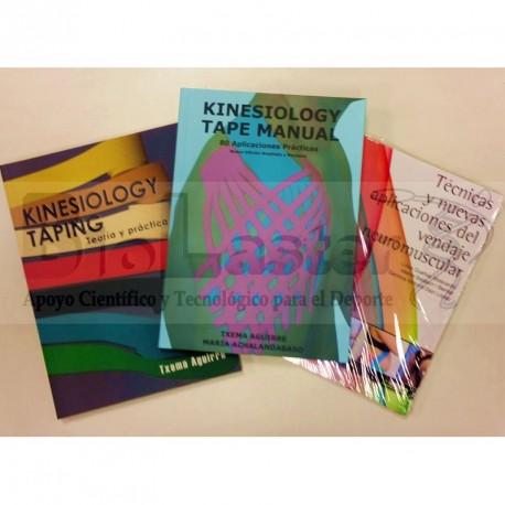 Conjunto de Libros de Kinesiotape 3