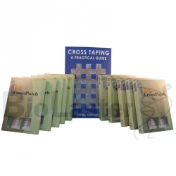 Pack 10 Cross Patch - Livre Taping Anglais