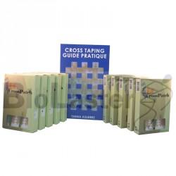 Pack 10 Cross Patch - Livre Taping Français