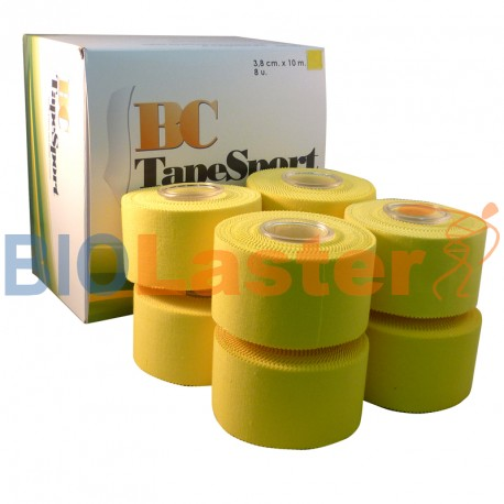 BC Tape Sport. 5 Boxes of 8 Tape 3'8 x 10