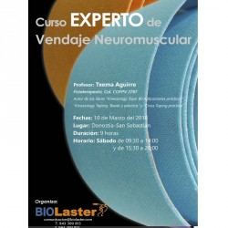 Curso Experto Vendaje Neuromuscular
