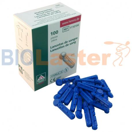 Pack de 100 Lancetas 23G