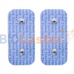 Électrodes 5x10, double connexion agrafe