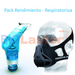 Pack Rendimiento Respiratorio (POWERbreathe + Máscara Phantom)