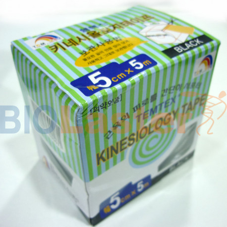 Temtex Kinesiology Tape 5x5 OUTLET