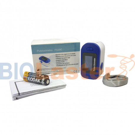 Pulsioxímetro de dedo FS20C