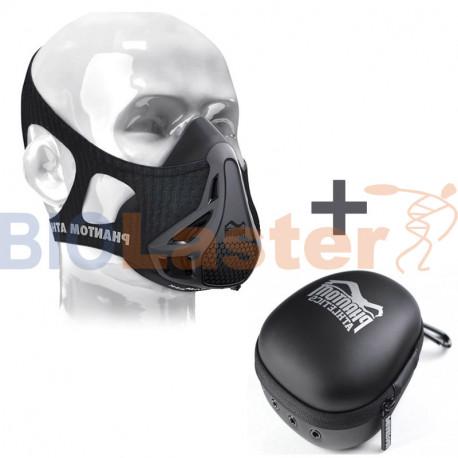 Conjunto de Máscara de Entrenamiento + Estuche Phantom