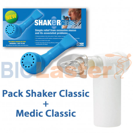Pack de Shaker + POWER Medic