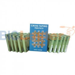 Pack 10 Cross Patch - Livre Taping Espagnol