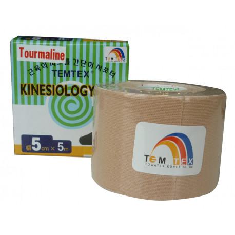 Temtex Tourmaline Kinesiology Tape 5x5 . 1 Ud