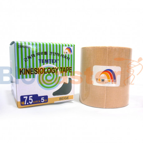 Temtex Kinesiology Tape 7,5x5 Beige 1 Ud