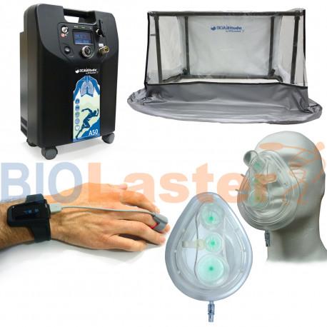 Kit BioAltitude A50 - Hipoxia Reposo e Intermitente
