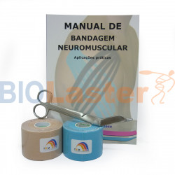 Pack l'Initiation Kinesiology Tape Portuguese