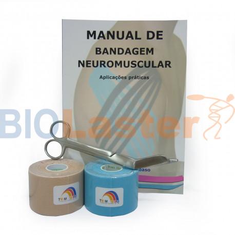 Pack Iniciación Kinesiology Tape Portugués