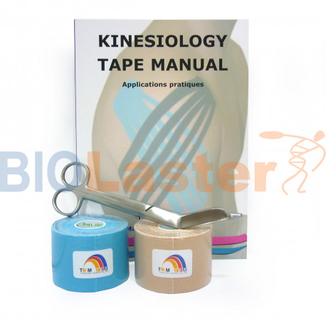 Pack Iniciación Kinesiology Tape Francés