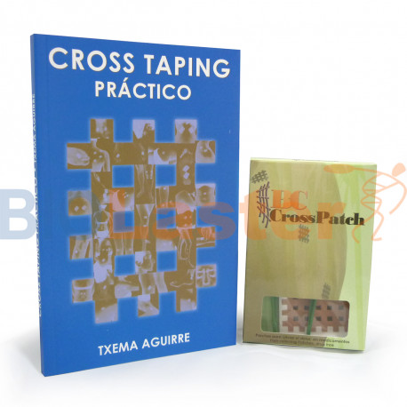 Pack 1 Cross Patch - Livre Cross Taping Espagnol