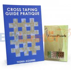 Pack 1 Cross Patch - Book Cross Taping in French