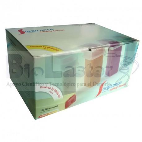 Pack de 100 Lancetas SurgiLance