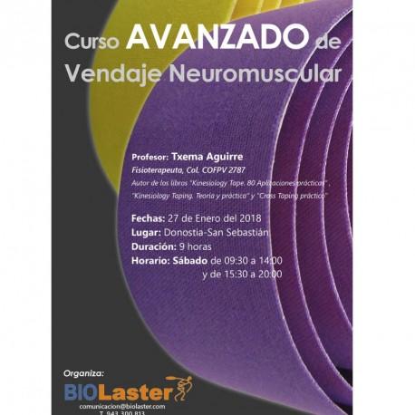 Curso Avanzado Vendaje Neuromuscular Noviembre 2016