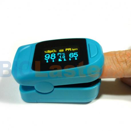 Pulsioxímetro de dedo M130 Azul
