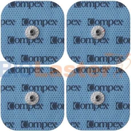 Electrodos 5x5, conexion corchete Compex