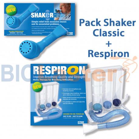 Pack Shaker + Respiron