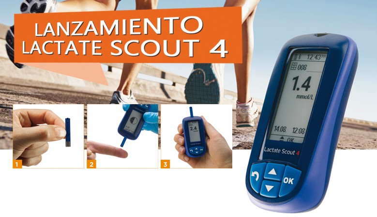 Nuevo Analizador de Lactato Lactate Scout 4