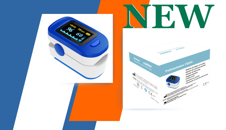 New finger pulse oximeter, FS20C