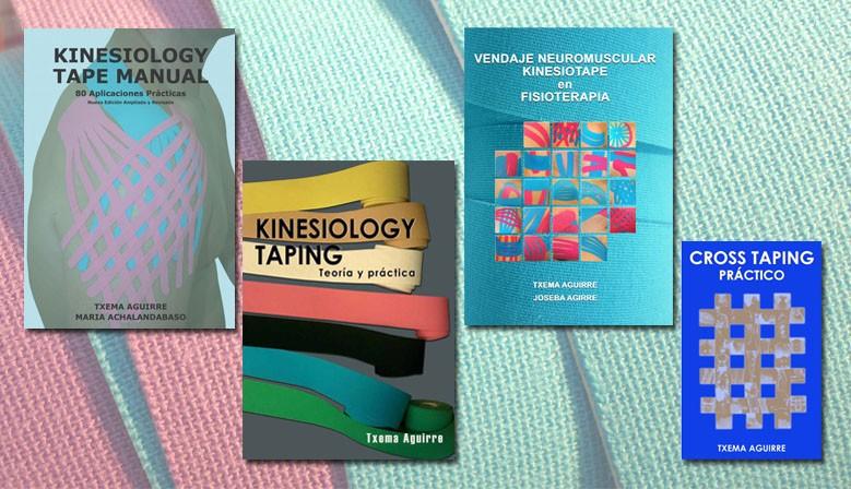 Libros de Vendaje Neuromuscular y Cross Taping