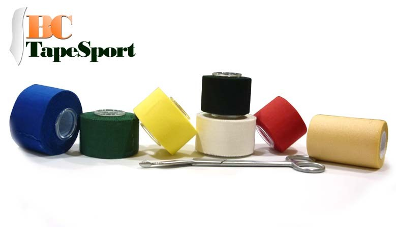 Sport tape in different colors